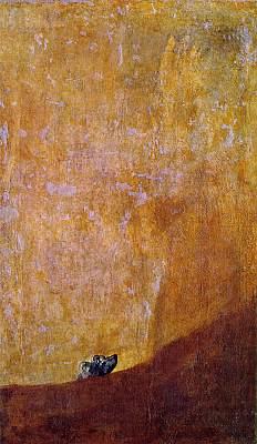 Goya Dog Picture